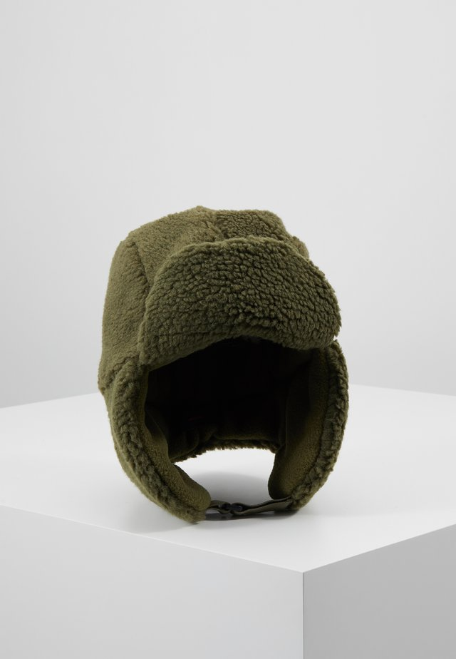 CHAPKA - Beanie - green wood