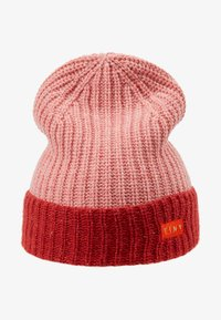 TINYCOTTONS - COLOR BLOCK BEANIE - Beanie - pale pink/burgundy - 1