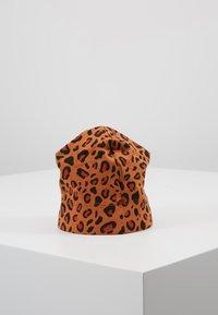 TINYCOTTONS - PRINT BABY HAT - Mütze - brown/dark brown - 3