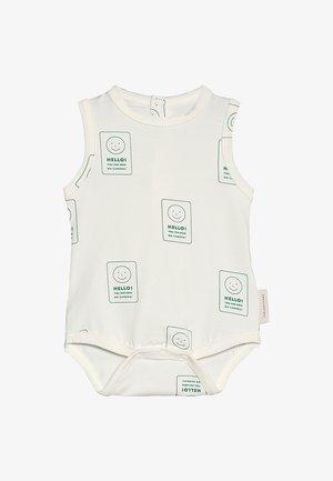 SMILE BABY - Body - off white/deep green