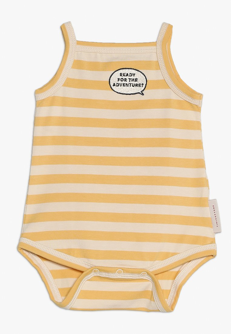TINYCOTTONS - ADVENTURE STRIPES BABY - Body - cream/canary