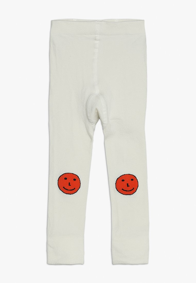 TINYCOTTONS - HAPPY FACES - Leggings - off-white/red