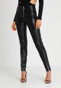 Tiger Mist - QUINN PANT - Kalhoty - black - 0