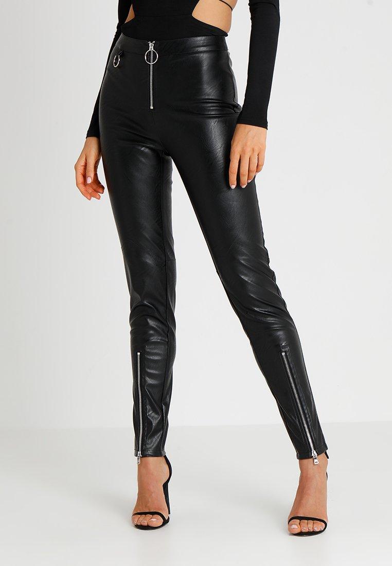 Tiger Mist - QUINN PANT - Kalhoty - black