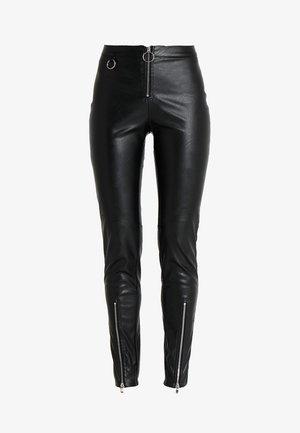 QUINN PANT - Pantalon classique - black