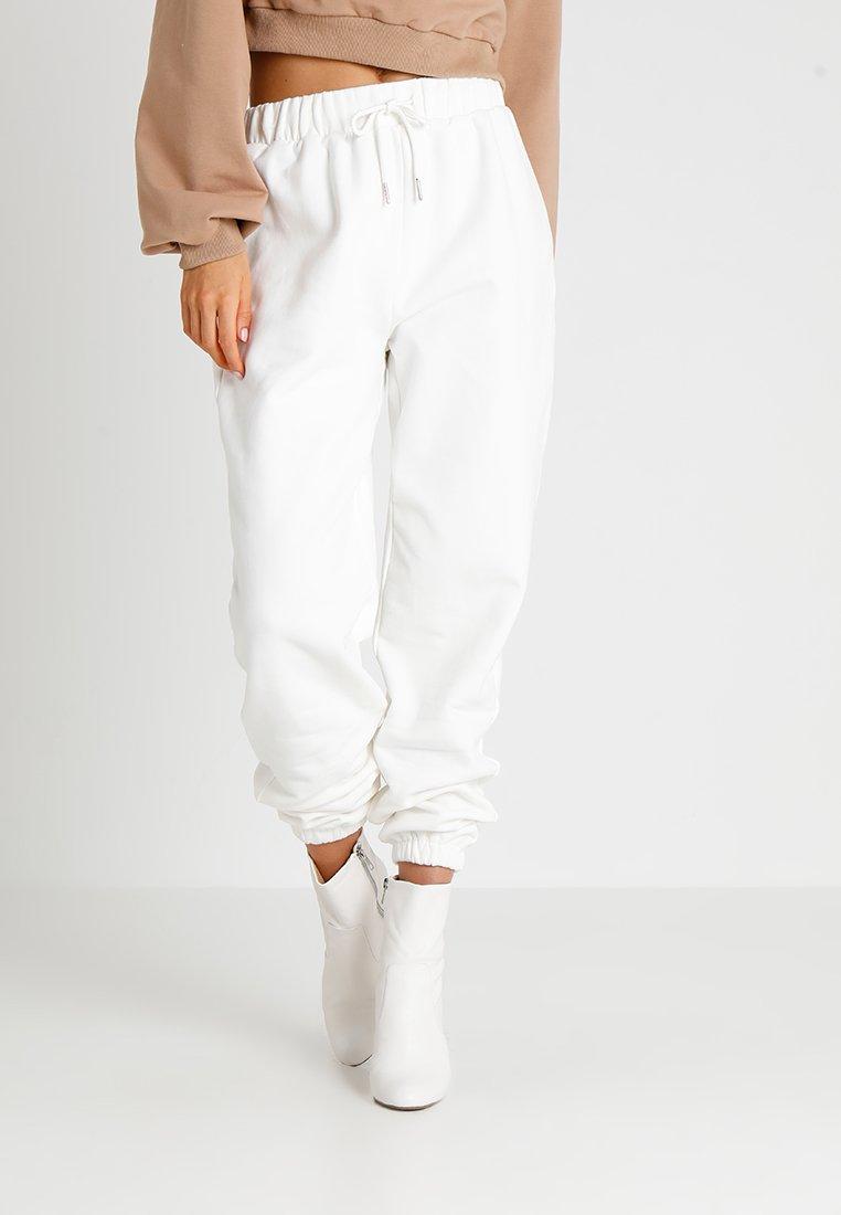 Tiger Mist - ROSE PANT - Pantalones deportivos - white