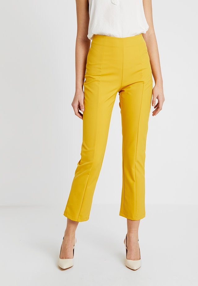 KINSLEY PANT - Trousers - mustard