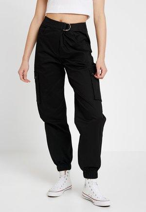 ALIYAH CARGO PANT - Kalhoty - black