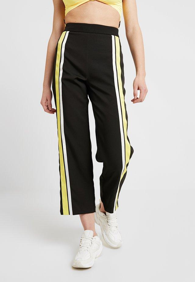 HIGHWAY CULOTTES - Kalhoty - black