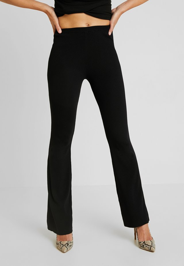 LUCY PANT - Trousers - black