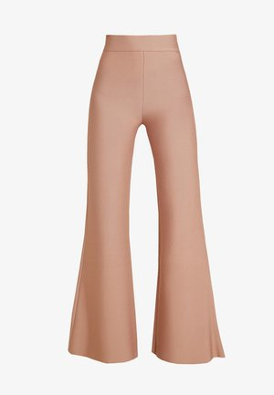 SYLVIA PANT - Trousers - tan