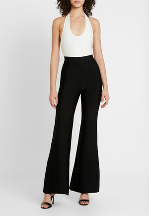 SYLVIA PANT - Pantalon classique - black