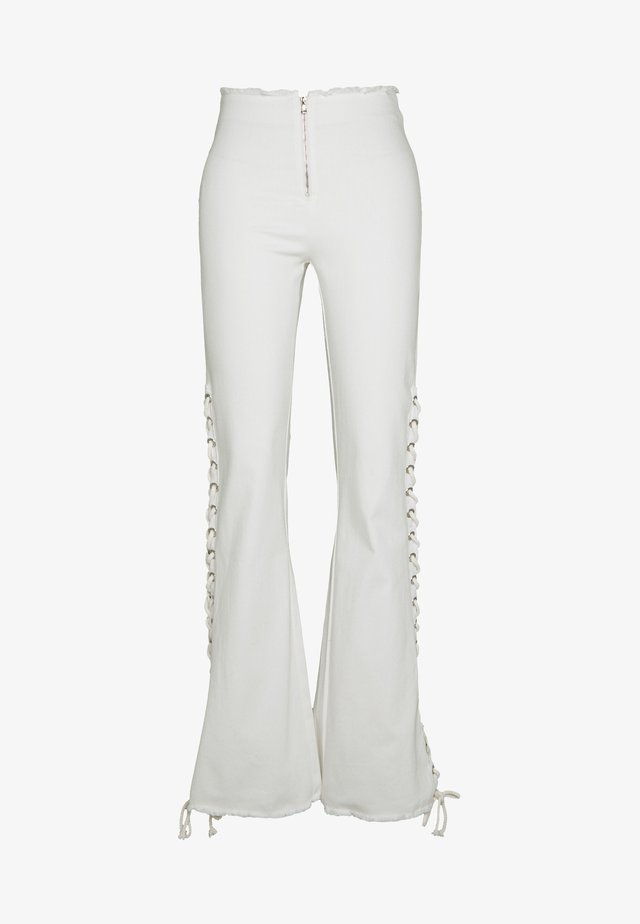 ASTRA PANT - Trousers - white