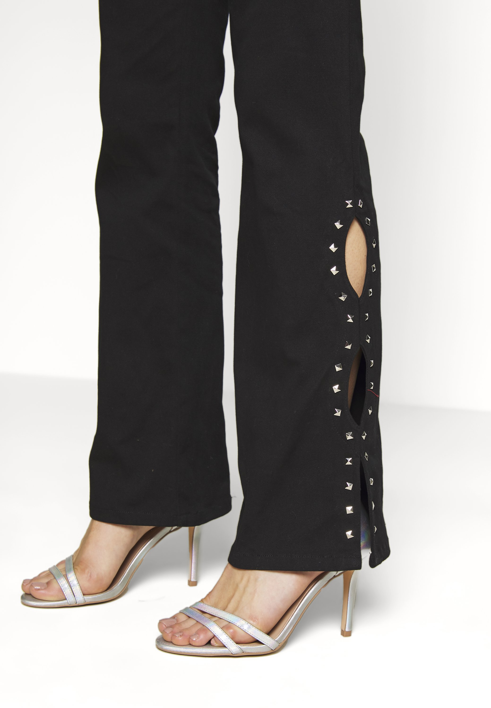 Tiger Mist SIDNEY PANT - Spodnie materiałowe - black