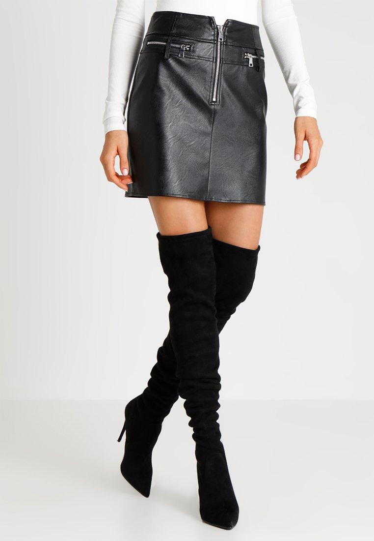 Tiger Mist - LENNON SKIRT - Mini skirt - black