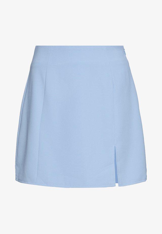 AVANTI SKIRT - Mini skirt - blue