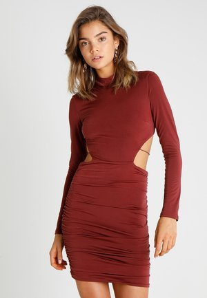 KENNEDY DRESS - Kotelomekko - plum