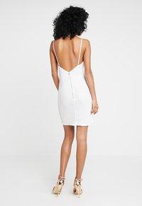 Tiger Mist - TIFFANY DRESS - Koktejlové šaty/ šaty na párty - white - 2