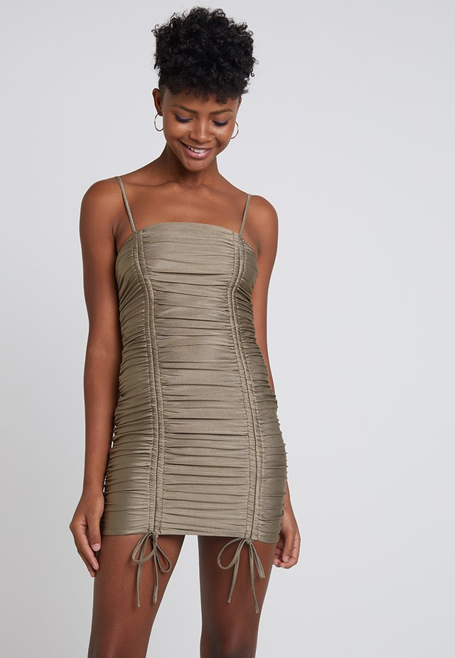 ZION DRESS - Shift dress - olive