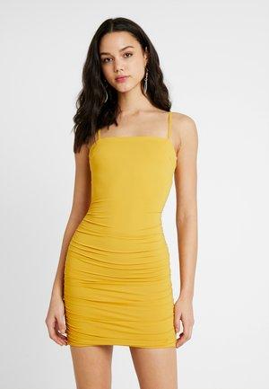 SUNRISE DRESS - Robe fourreau - mustard