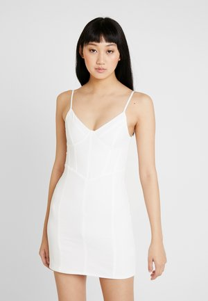 LYDIA DRESS - Pouzdrové šaty - white