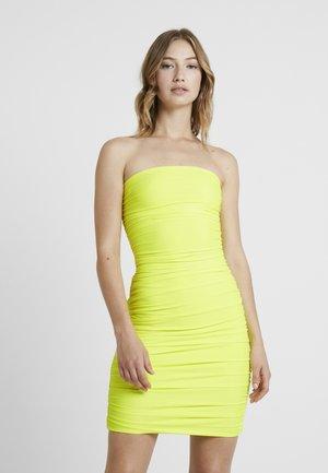 KEELI DRESS - Robe fourreau - neon yellow