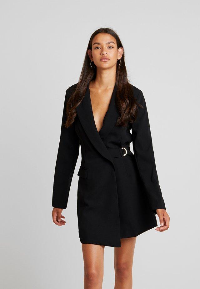 AVANTI BLAZER DRESS - Vestito estivo - black