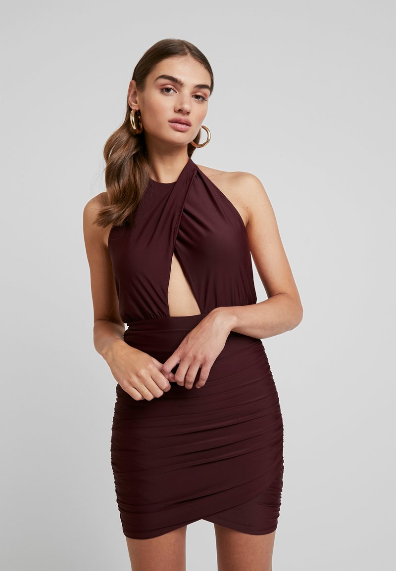 Tiger Mist - NOT YOUR GIRL DRESS - Cocktail dress / Party dress - plum