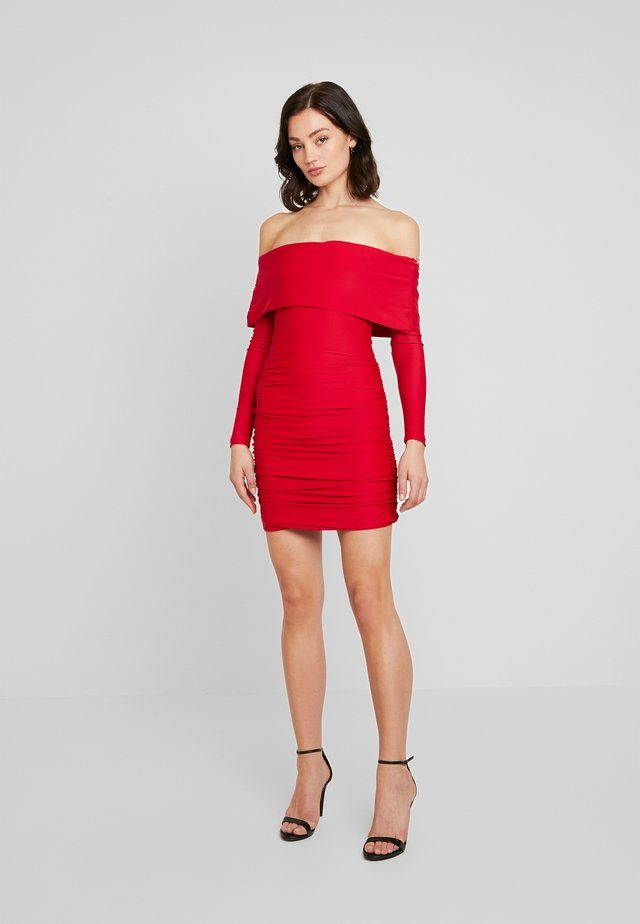MOVE OVER DRESS - Cocktail dress / Party dress - red