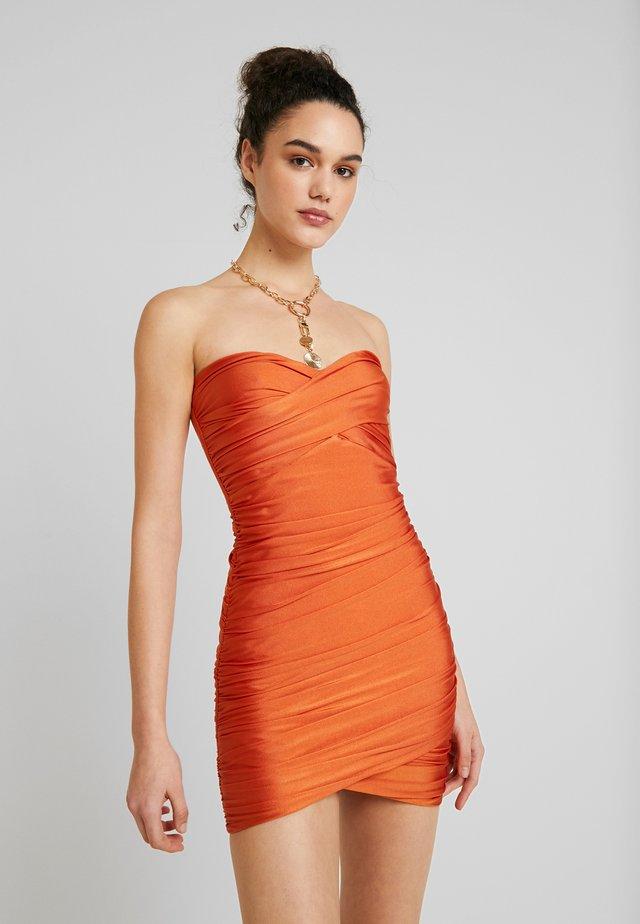 MATTEO DRESS - Cocktail dress / Party dress - orange