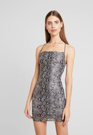 REESE DRESS - Sukienka koktajlowa - grey