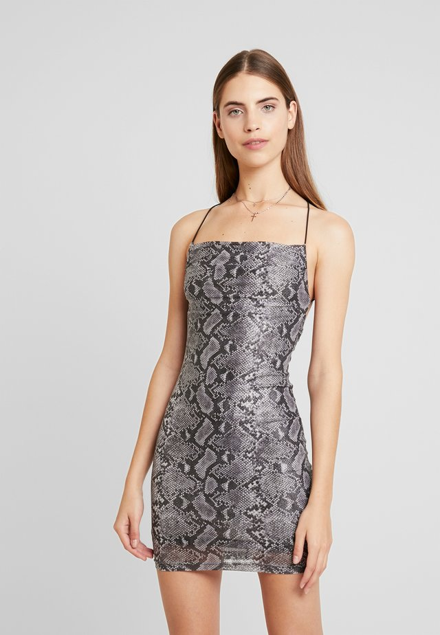 REESE DRESS - Cocktailjurk - grey