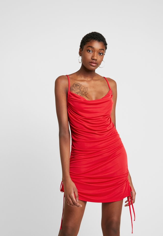 PORTO DRESS - Sukienka koktajlowa - red