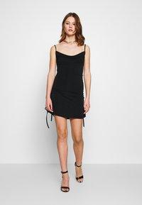 Tiger Mist - PORTO DRESS - Robe de soirée - black - 1