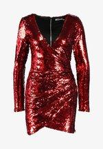FLORES DRESS - Cocktail dress / Party dress - red sequin