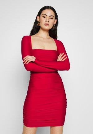 TULLY DRESS - Sukienka koktajlowa - red