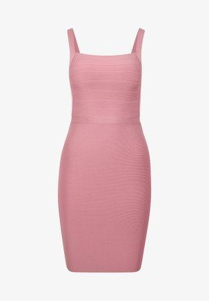PRAGUE DRESS - Vestido de tubo - blush