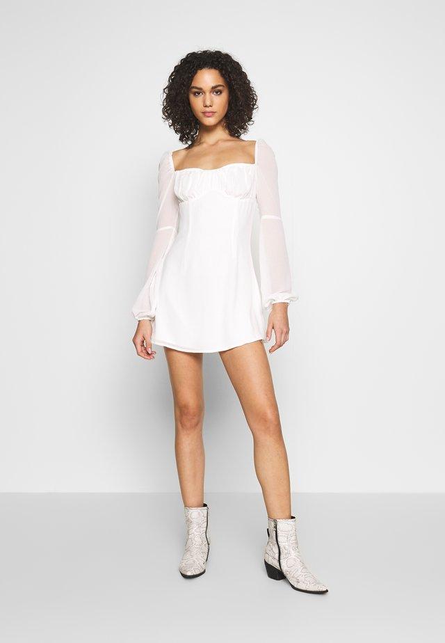 POLAND DRESS - Hverdagskjoler - white