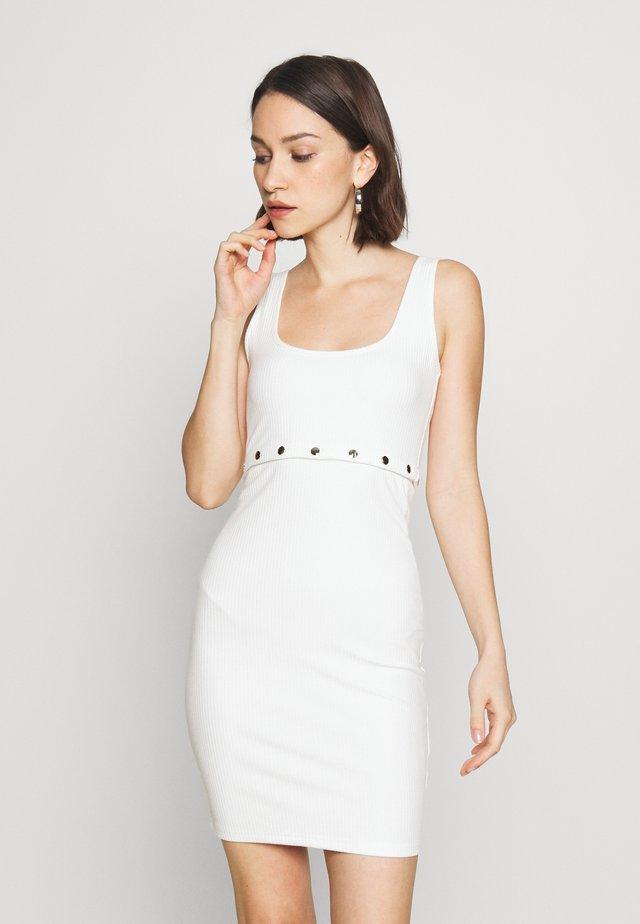 EXPRESS DRESS - Denní šaty - white