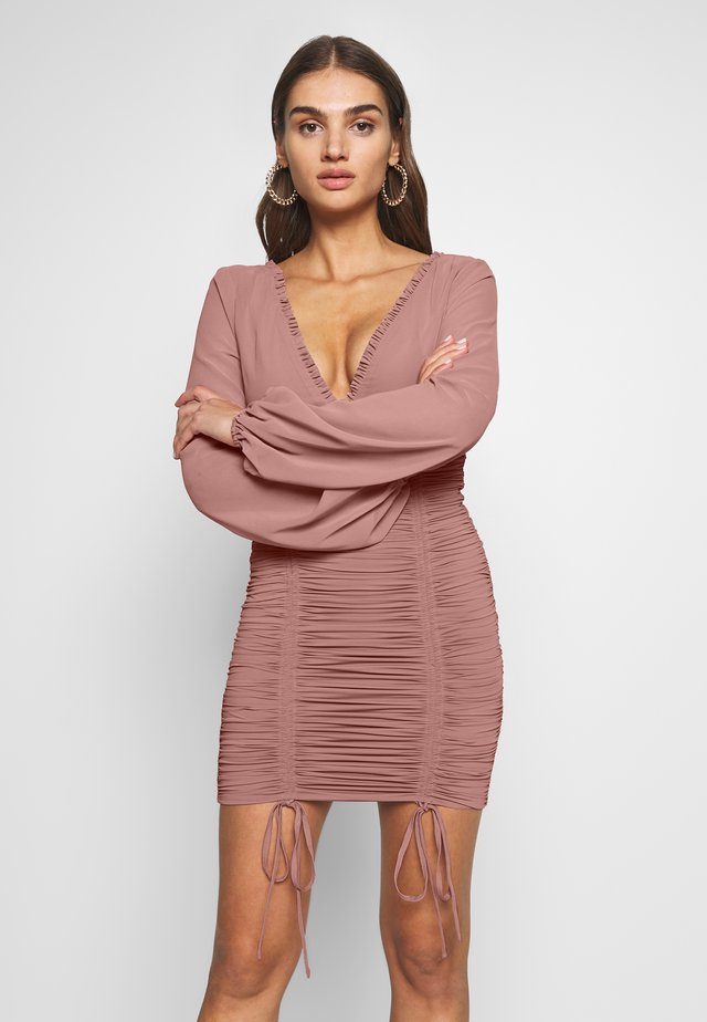 MAGNOLIA DRESS - Cocktailjurk - blush
