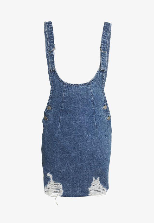 RYDER PINI - Denimové šaty - blue