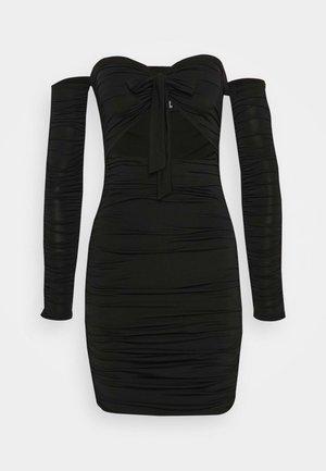 LISBON DRESS - Vestito estivo - black