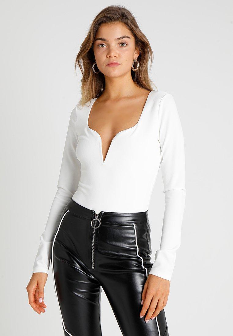 Tiger Mist - FETCH BODYSUIT - Langærmede T-shirts - white