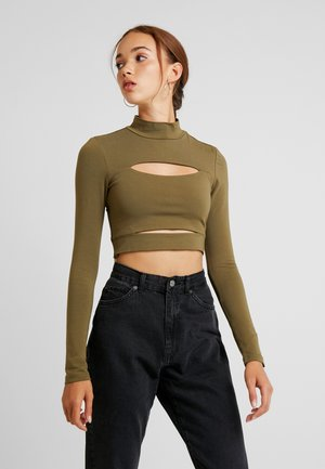 SHECKI - Long sleeved top - khaki