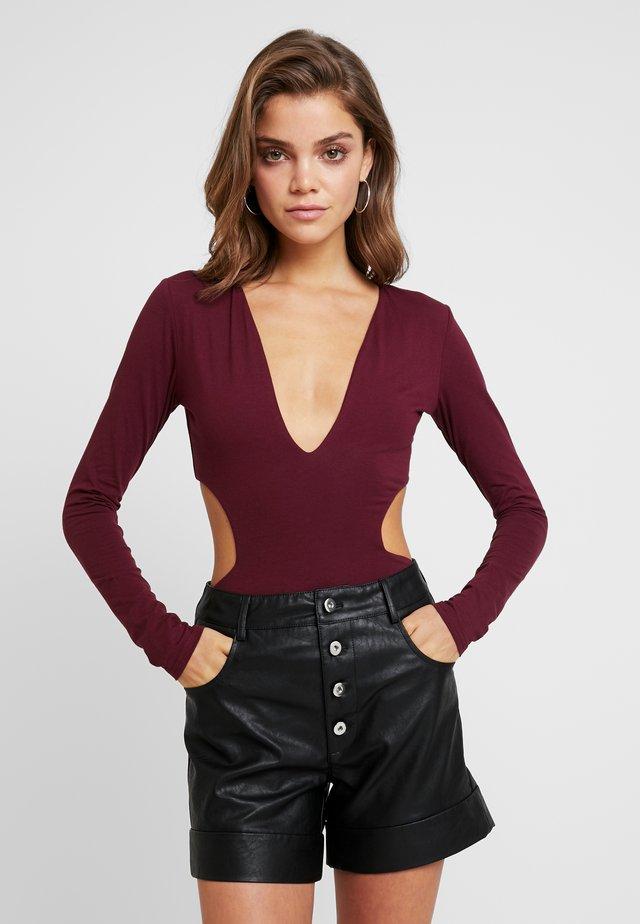 ISABELLA BODYSUIT - Langarmshirt - plum