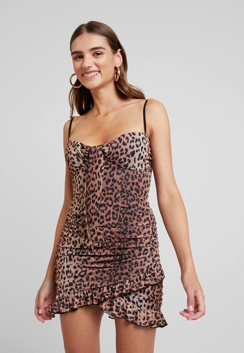 Tiger Mist - MILLIE DRESS - Etui-jurk - brown