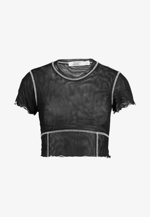 TEESHA - T-shirt print - black