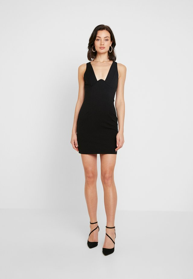 ADORE DRESS - Kotelomekko - black