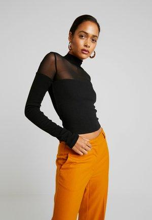 ASHLEIGH - Långärmad tröja - black