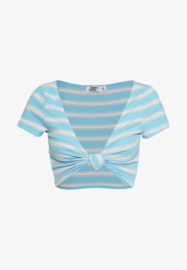 LULU - T-shirt con stampa - blue
